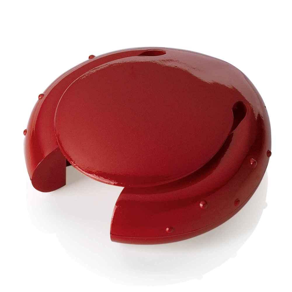 Cherry red LUX owll style corkscrew