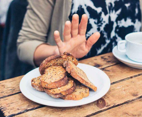 Coeliacs and gluten