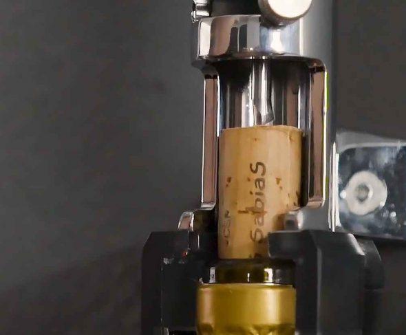 The cork and BOJ wall-mounted corkscrews – BOJ Masterclass by Jon William