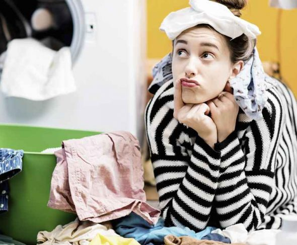 """What to do so that doing the laundry isn""""t a nightmare?"""